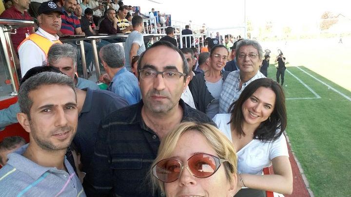 Amedspor-İstanbulspor maçını İstanbul'dan gelen çok sayıda gazeteci ve televizyoncu izledi.