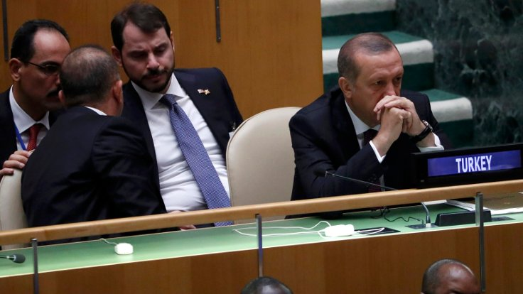 BM Genel Kurulu'na Cumhurbaşkanı Tayyip Erdoğan da katıldı.