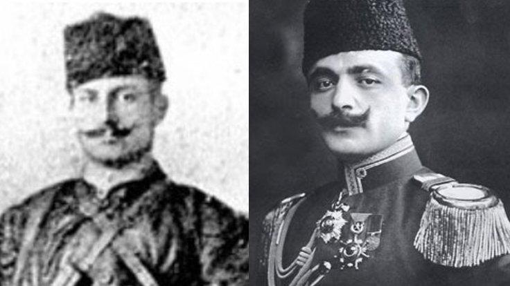 Yakup Cemil (solda) ve Enver Paşa (sağda)
