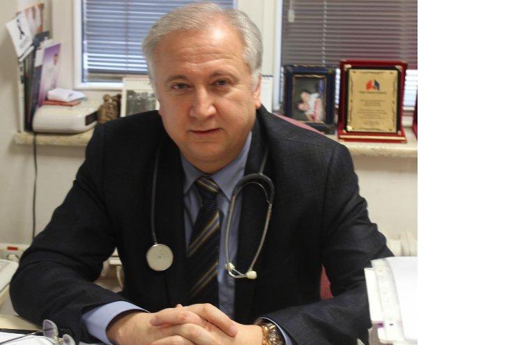 Toraks Derneği Başkanı Prof. Dr. Ali Fuat Kalyoncu