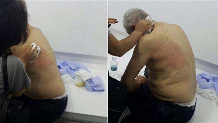 CHP'li İbrahim Özdiş, hastaneye kaldırıldı.