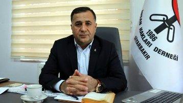 İHD Genel Başkan Yardımcısı ve Diyarbakır Şubesi Başkanı Raci Bilici