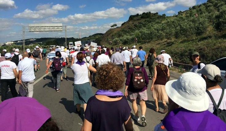 Kadınlar adalet için yürüyor...